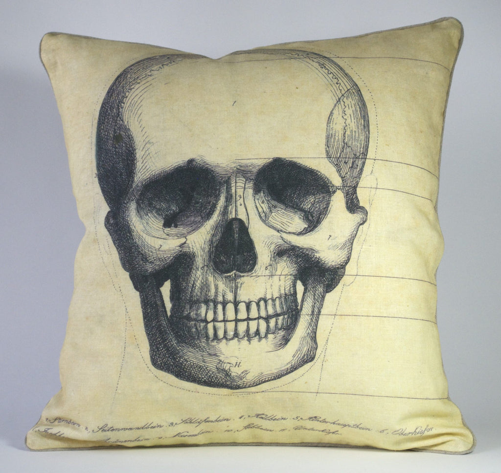 Skull Face Pillow P1165