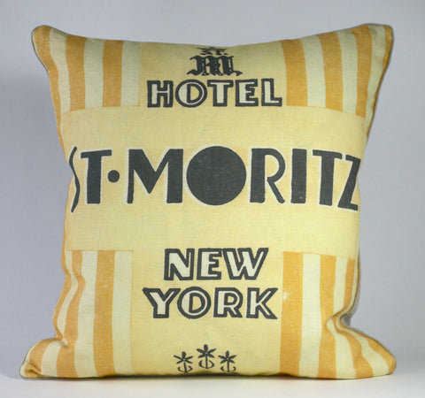 St Moritz NYC Hotel Pillow P1169