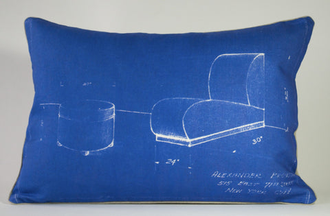 Alexander's Chair Pillow P1170