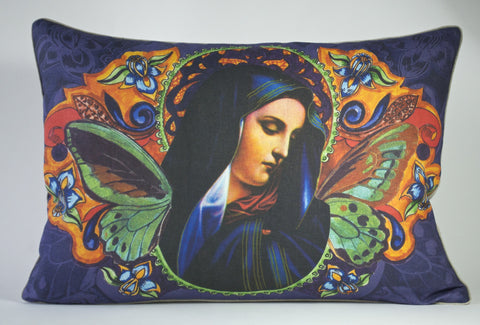 Baroque Virgin Pillow P1177