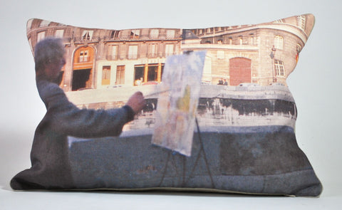 Paris Artiste 1961 Pillow P1148