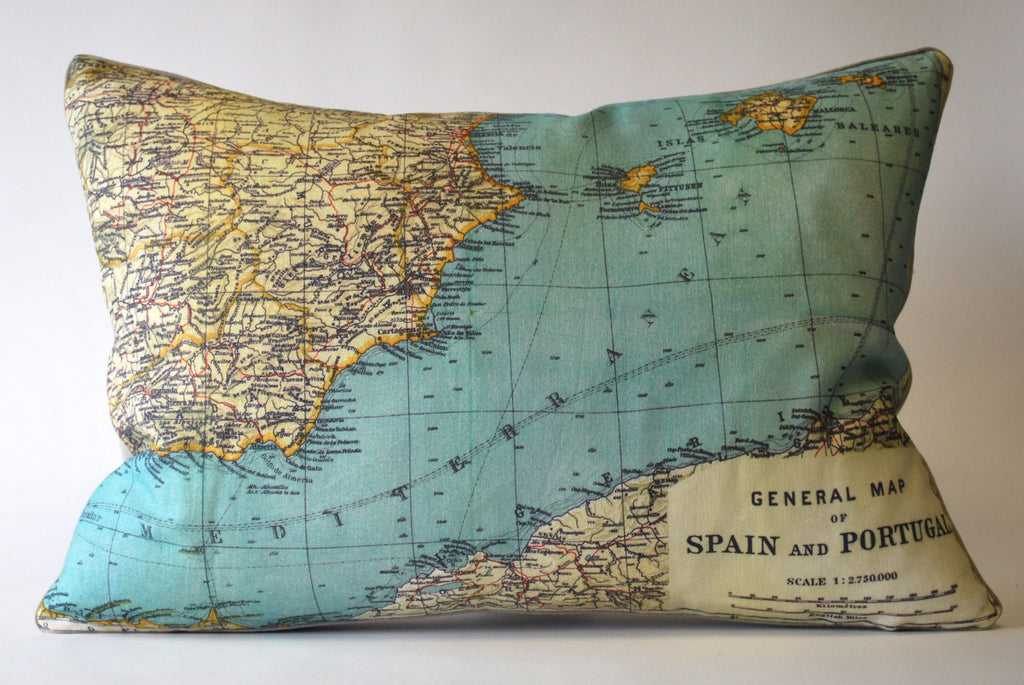 Spanish Mediterranean Pillow P1126