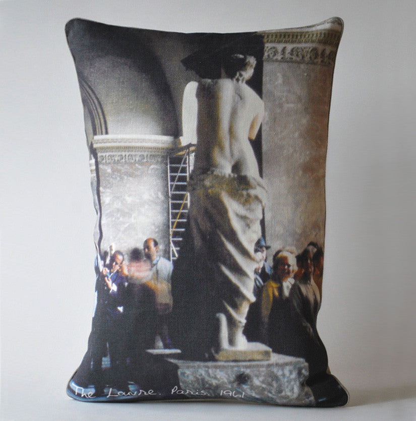 The Louvre, 1961 Pillow P1011