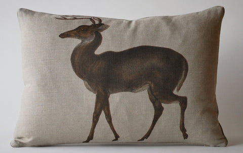 Vintage Deer Pillow P1014