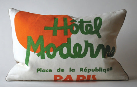 Hotel Moderne, Paris Pillow P1017