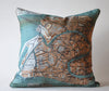 Venezia Map Pillow P1025