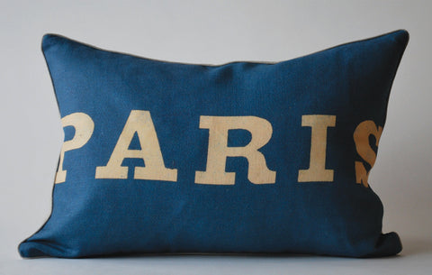 Simply Paris Pillow, Med. P1028
