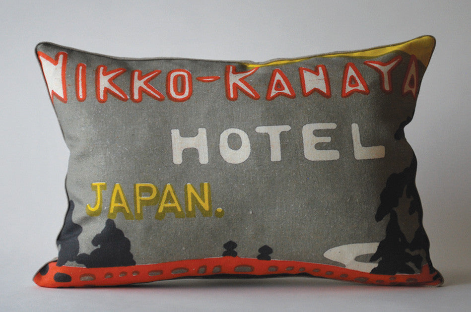 Nikko-Kanaya Hotel, Japan Pillow P1029