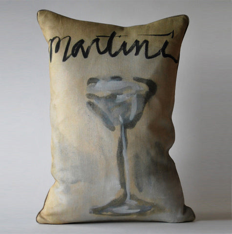 Martini Time Pillow P1032