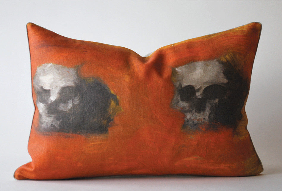 Skulls Abstracte Pillow P1035