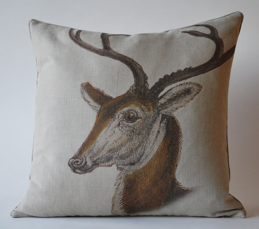 Vintage Stag 2 Pillow P1040