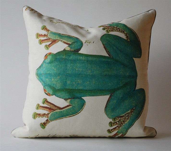 Vintage Frog Pillow P1069