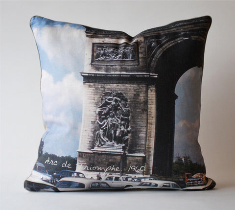Arc de Triomphe 1961 Pillow P1070