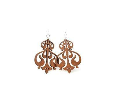 Rorschach Ink Design Earrings