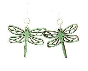 Dragonfly Blossom Earrings