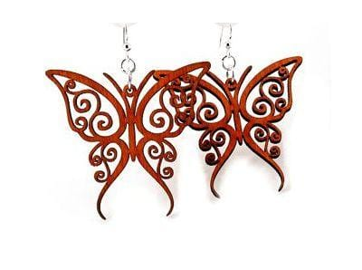 Fancy Butterfly Earrings