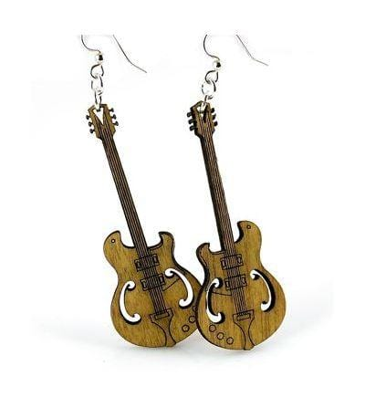 Electric Guitar Earrings