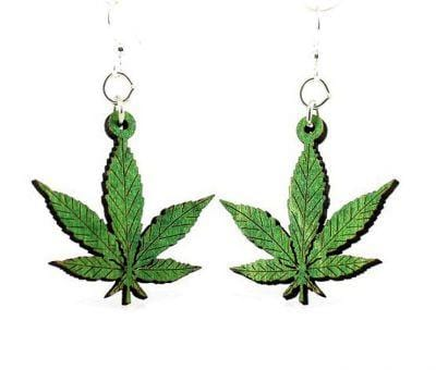 Hemp Leaves Earrings