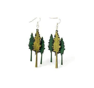 Redwood Tree Earrings