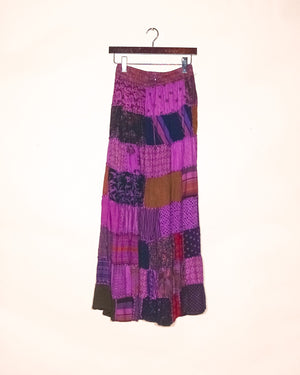Lavender Haze Recycled Maxi Skirt