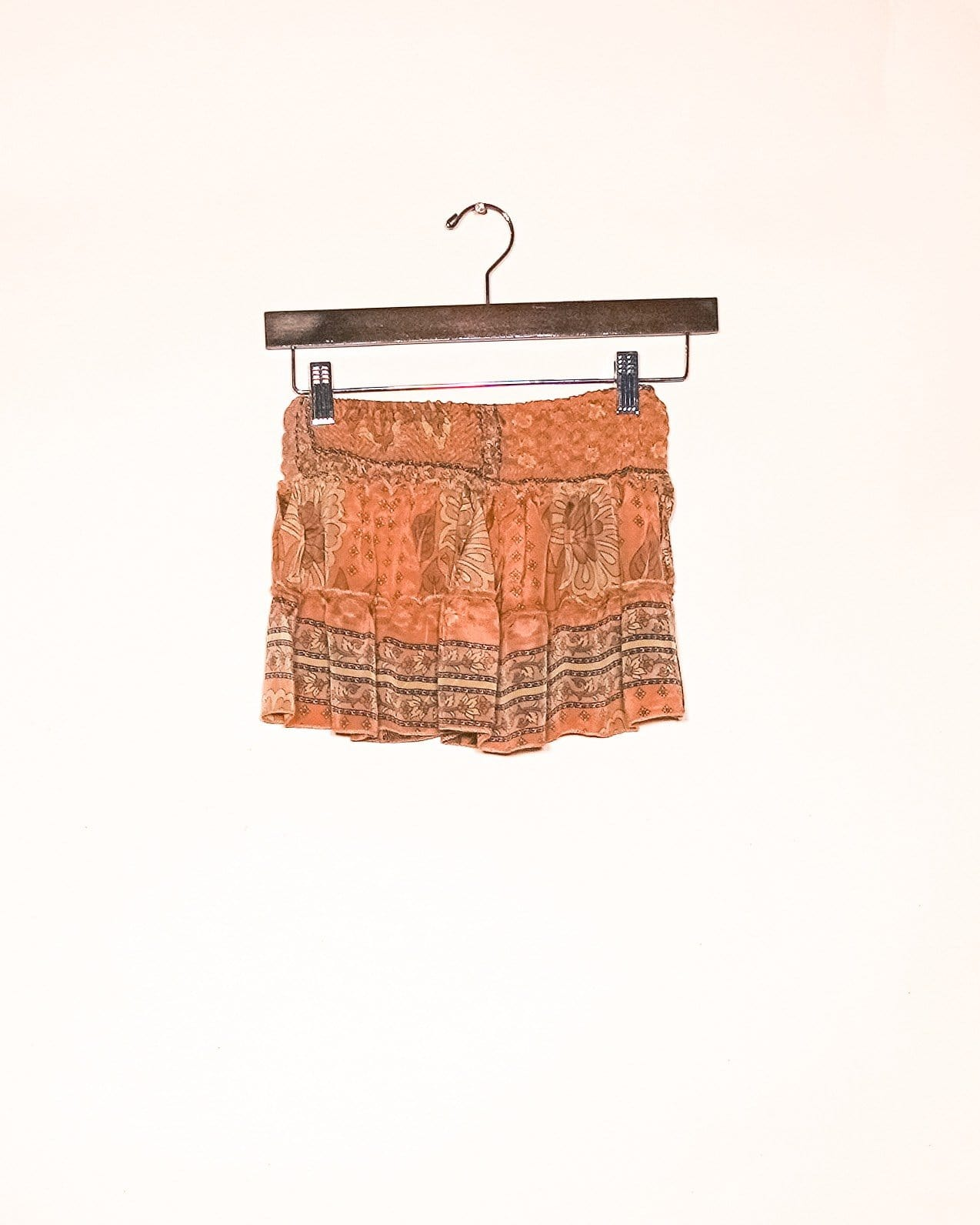 Sandstorm Silk Mini Skirt / Top