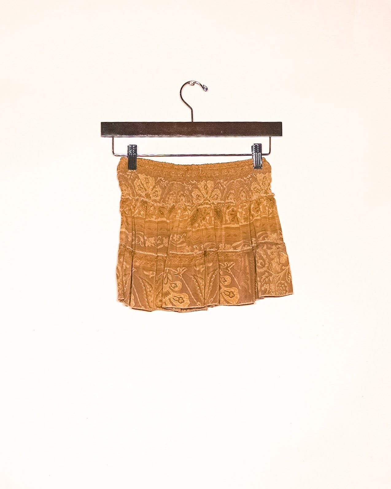 Carnival Silk Mini Skirt / Top