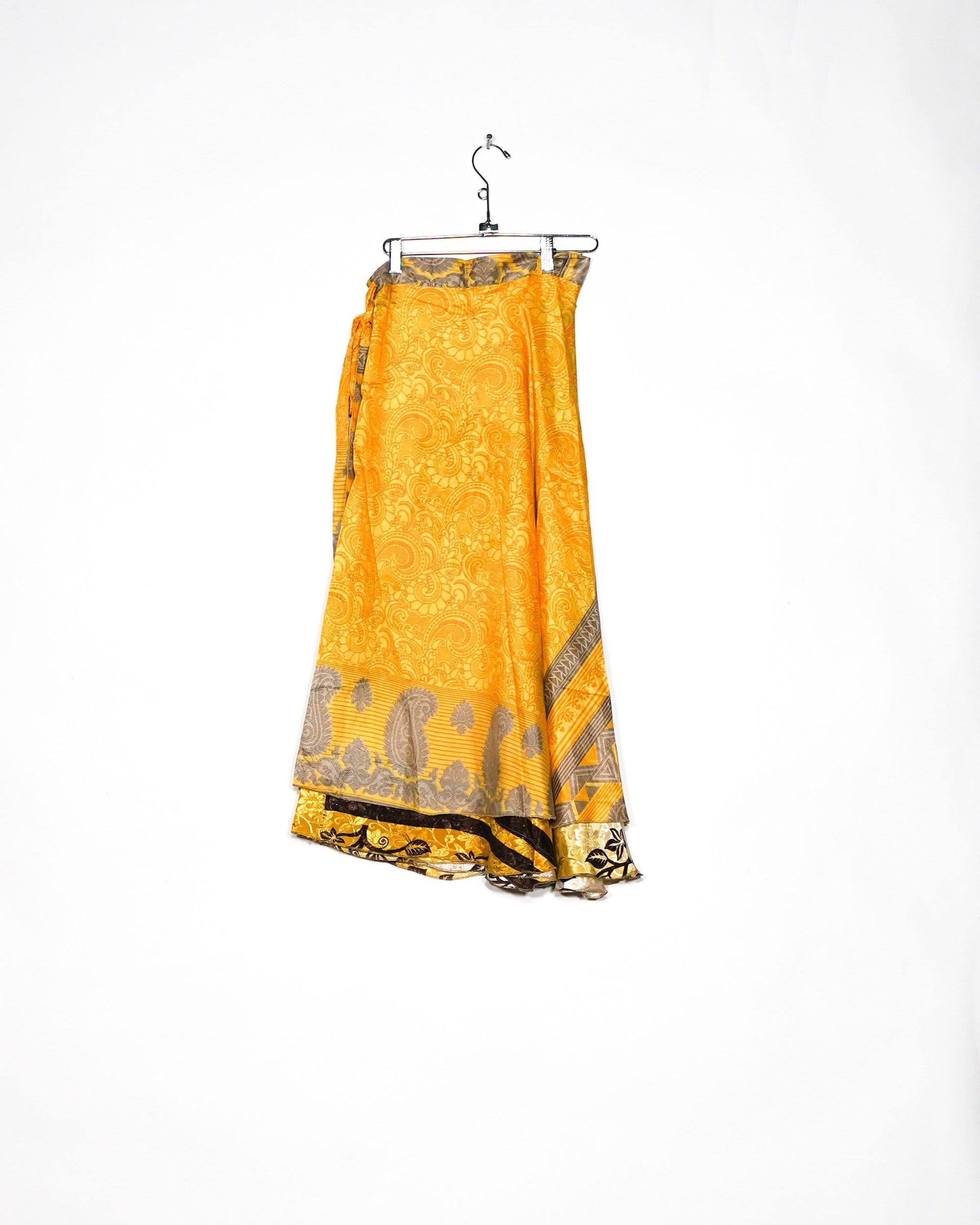 Tree of Life Silk Wrap Skirt