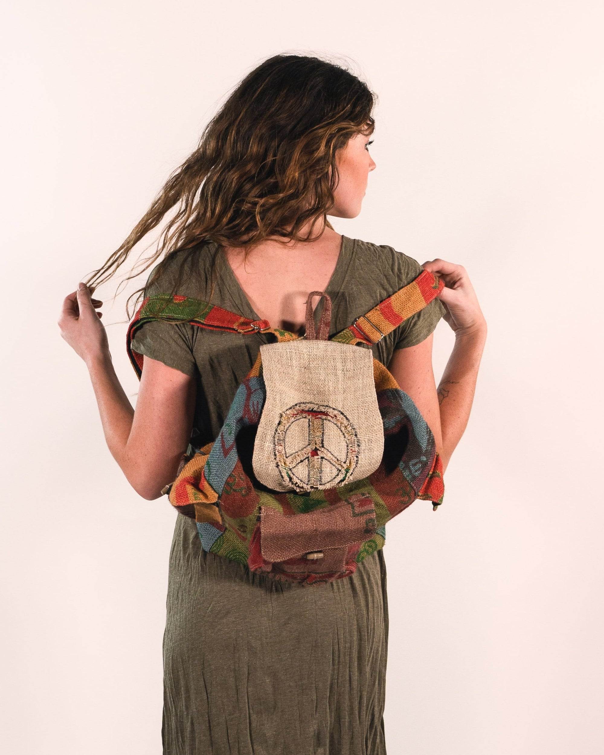 Patchwork Geo Backpack