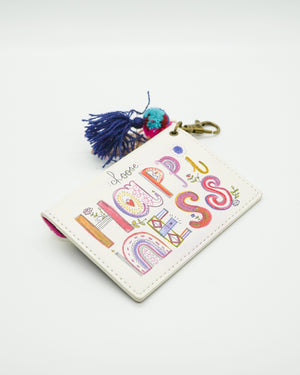 Happiness Card Pouch