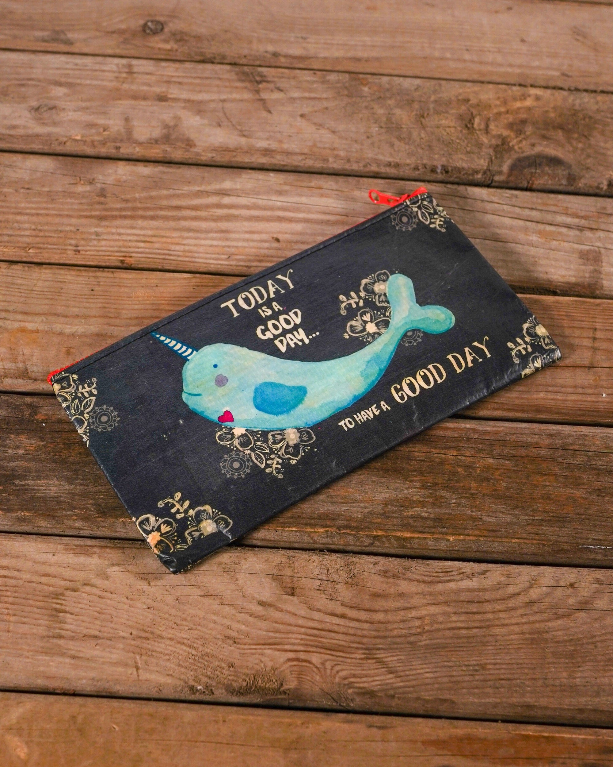 Narwhal Zip Pouch