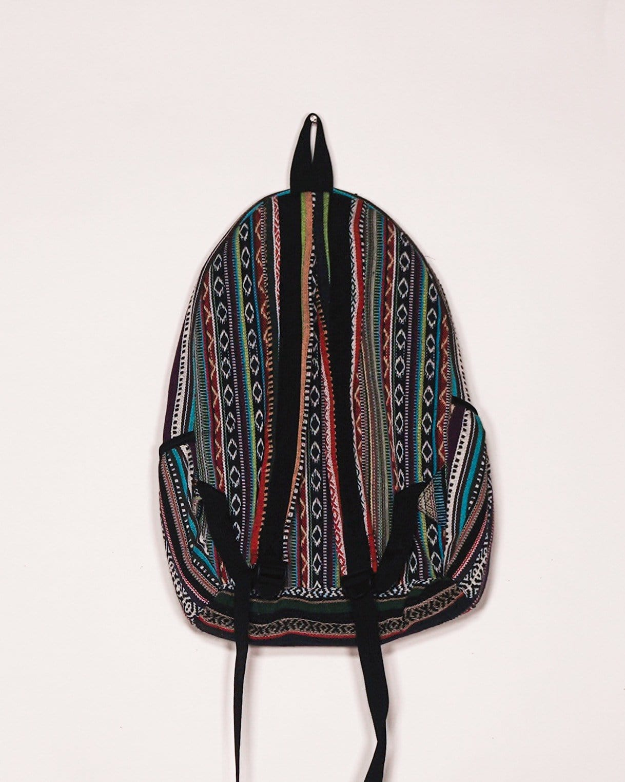 Big Pocket Striped Backpack