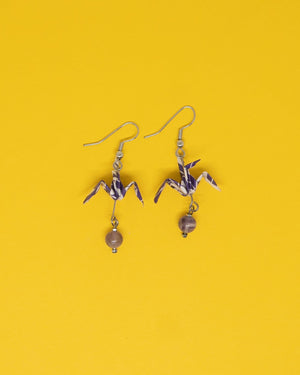 Origami Bird Earrings