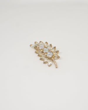 Snow Leaf Vintage Broach