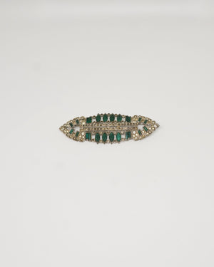 Green Emerald Vintage Broach