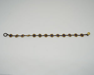 Gold Flower Anklet