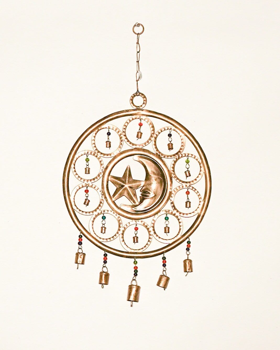 Moon & Stars Wind Chime