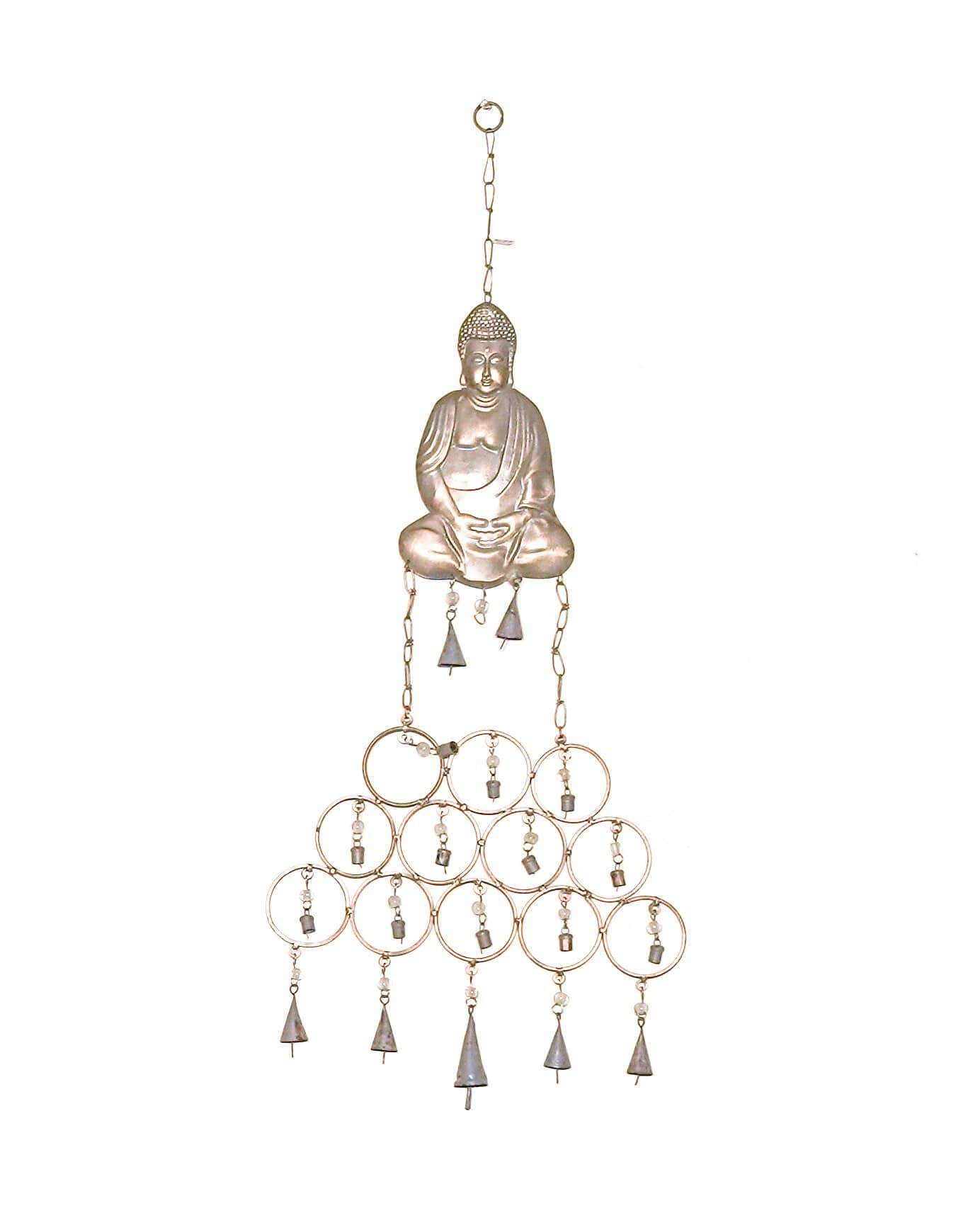 Brass Buddha Wind Chimes