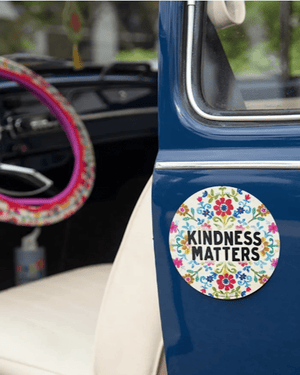 Kindness Matters Car Magnet