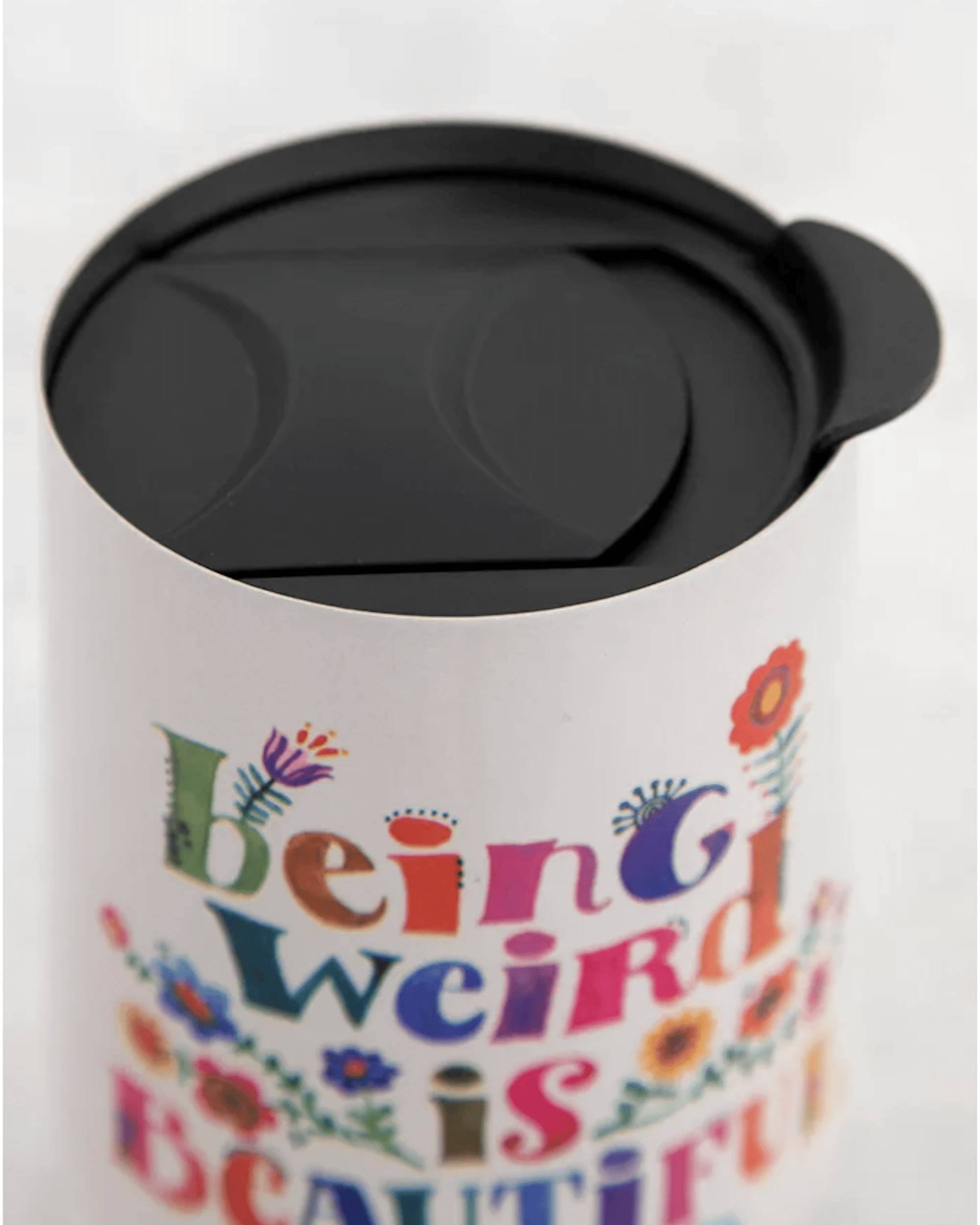 Being Weird is Beautiful Insulated Mug