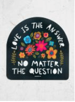 Love Is The Answer Sticker