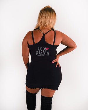 """Good Karma"" Tank Dress"