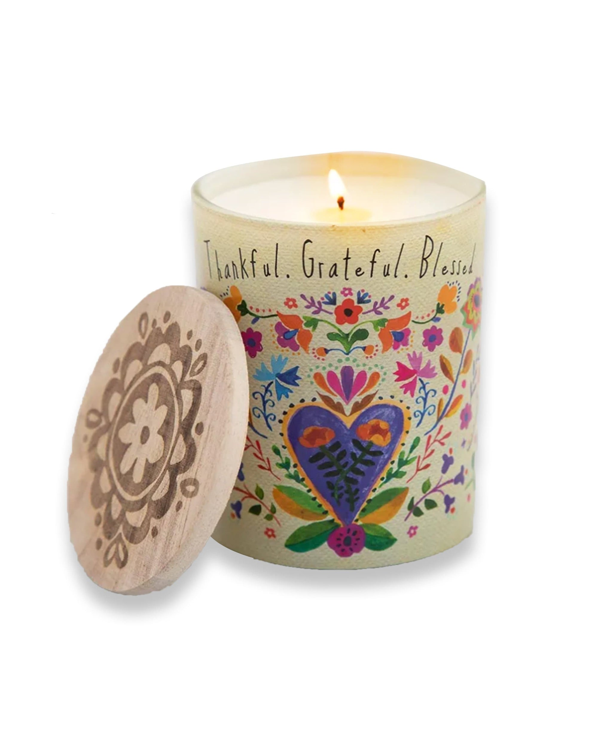 Thankful & Grateful Soy Candle