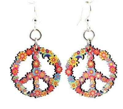 Peace Blossom Earrings