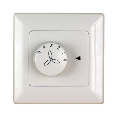 3 speed wall control face plate included