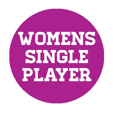 Womens Single Player (1 Game rebate)