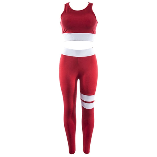 Stitching Running Fitness Wear