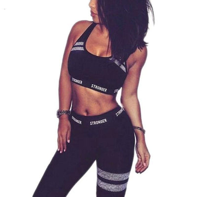 Women Fitness Workout Tracksuit