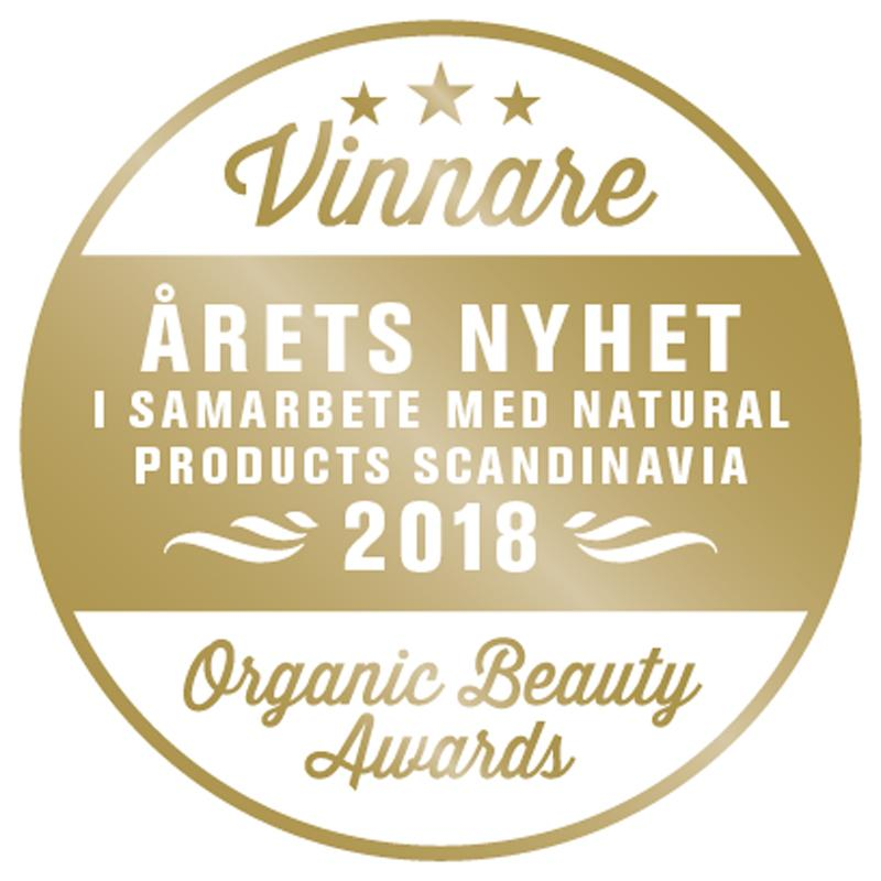 Amaranth Night Serum winner of Årets Nyhet 2018 - Organic Beauty Awards