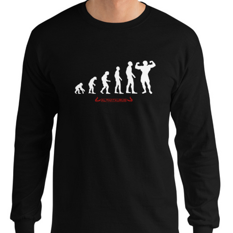 Bodybuilding Evolution - Longsleeve