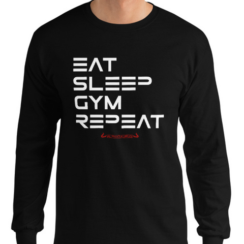 Eat, Sleep, Gym, Repeat - Longsleeve